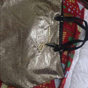 Victoria's Secret ⭐️⭐️💖Gold Tote Bag